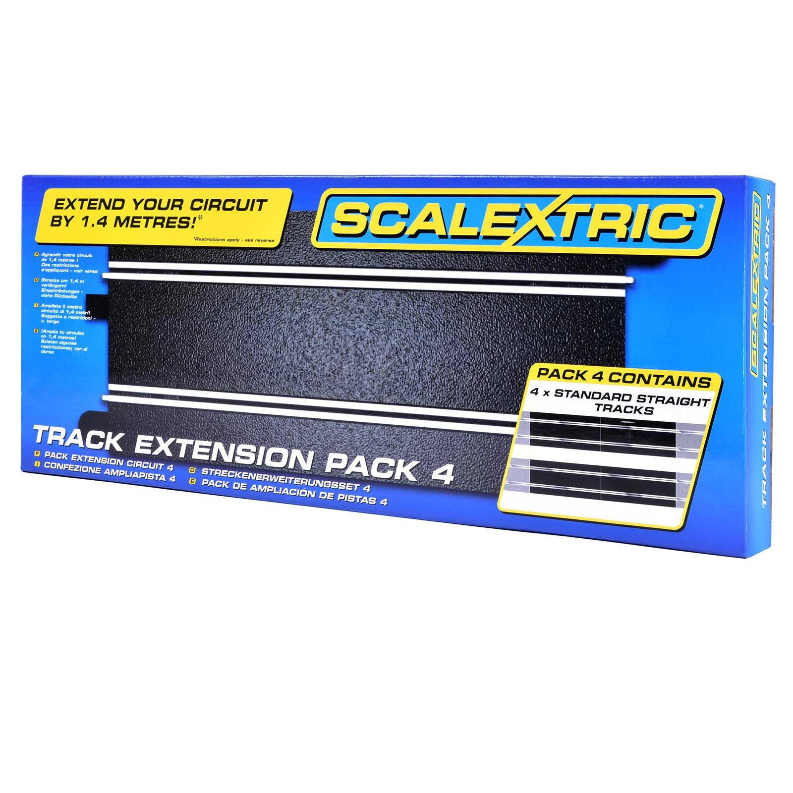 Scalextric Extension 4 Pack