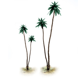 7 1/4 Inch Paintable Metal Palm