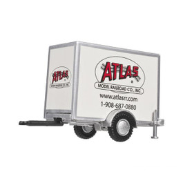 HO Box Trailer - Atlas Model