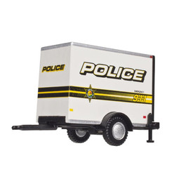 HO Box Trailer - Police 911