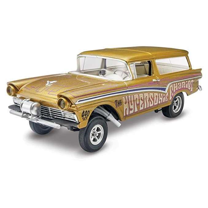 Revell Germany 1957 Ford Gasser Car (2 in 1), 1/25 Scale