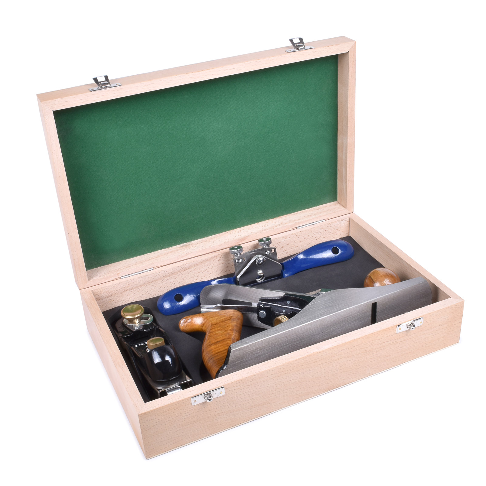 3-piece Woodworking Plane Set