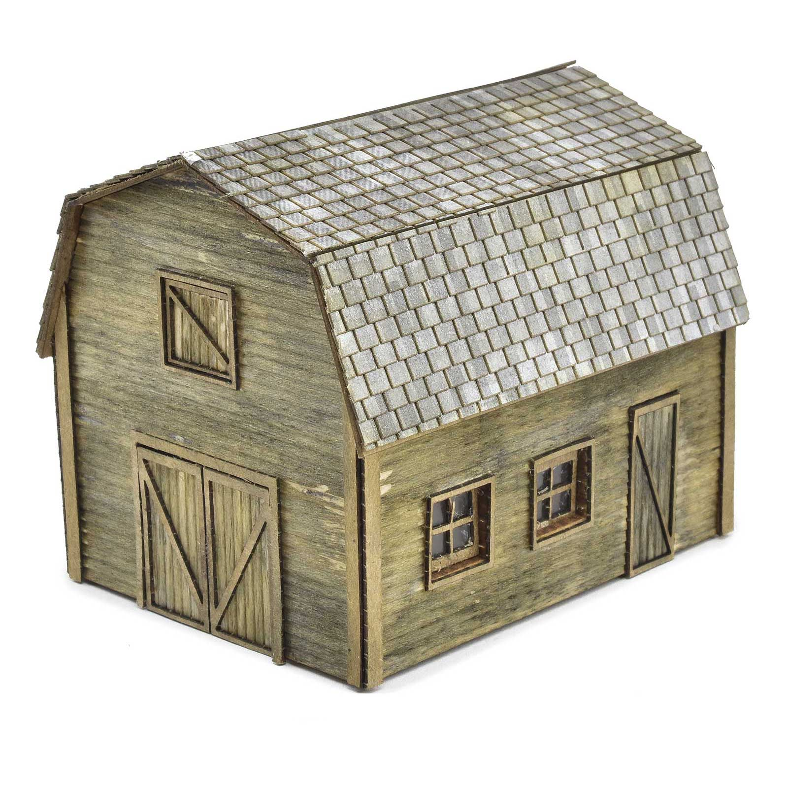 Shed with Hayloft Kit