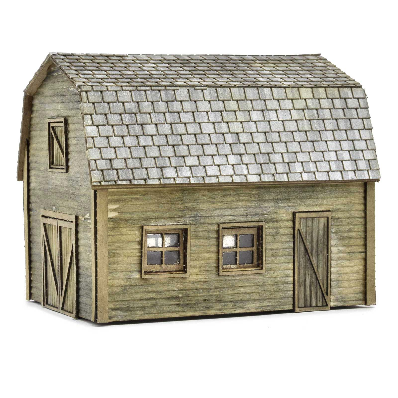 Rural Tractor Shed with Hayloft Kit