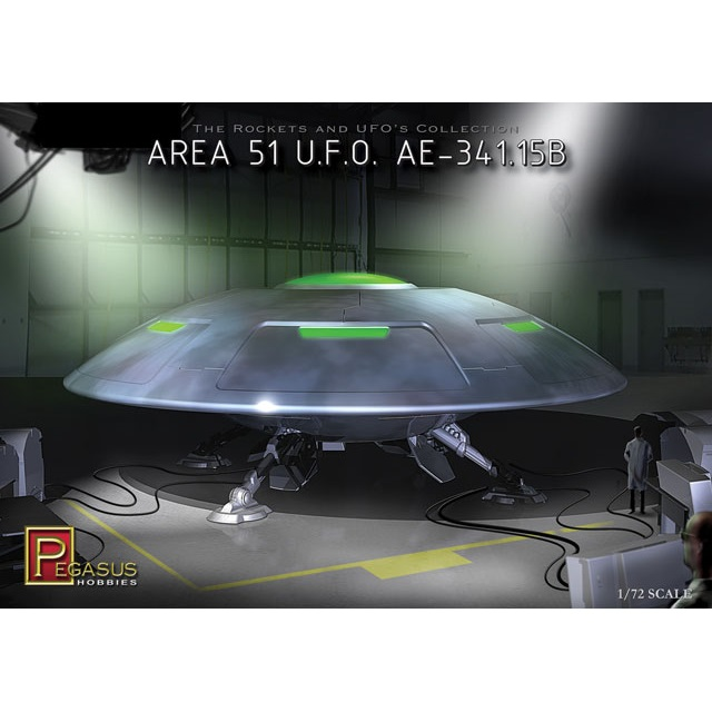 Pegasus Area 51 U.F.O Box