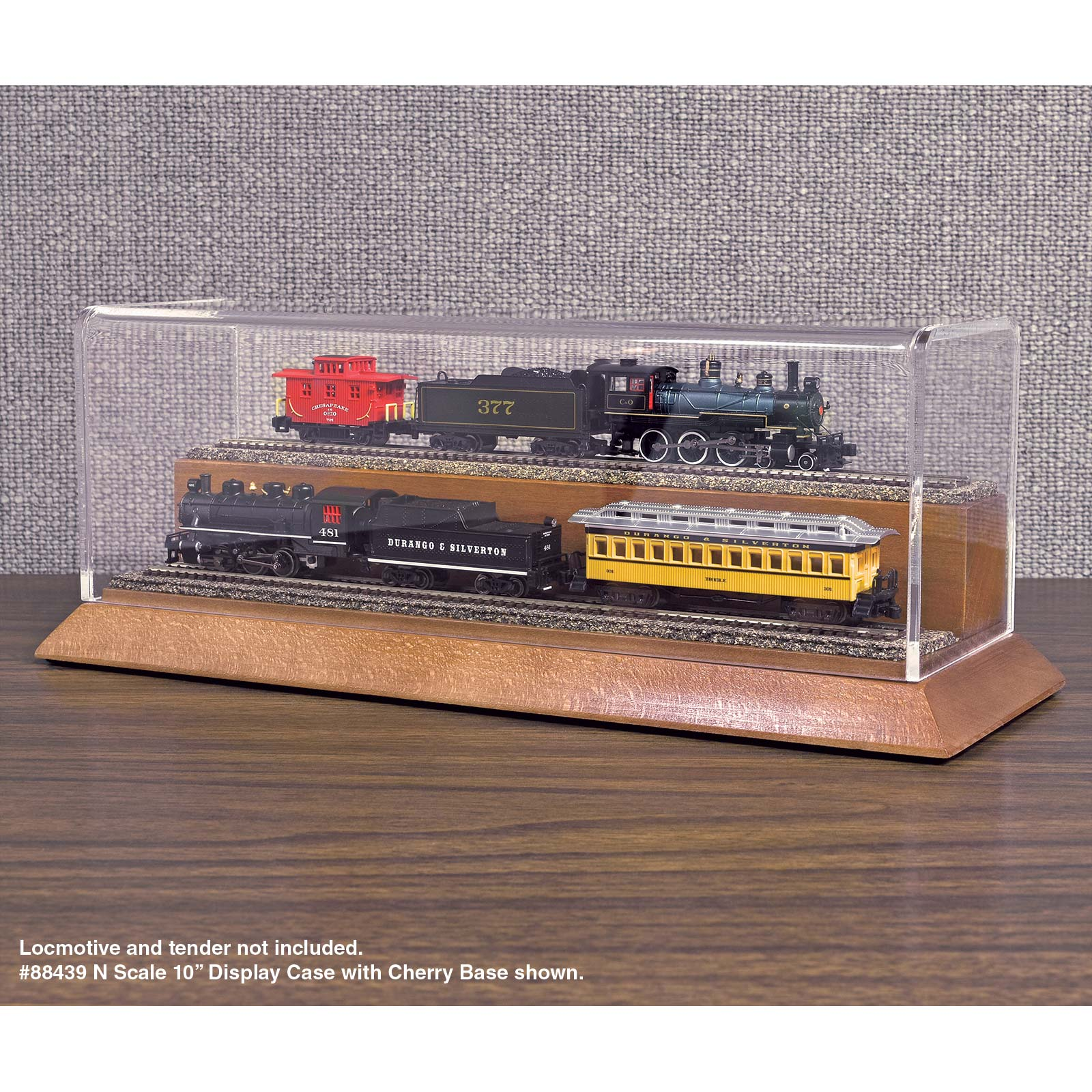 Premium Train Display Case 2
