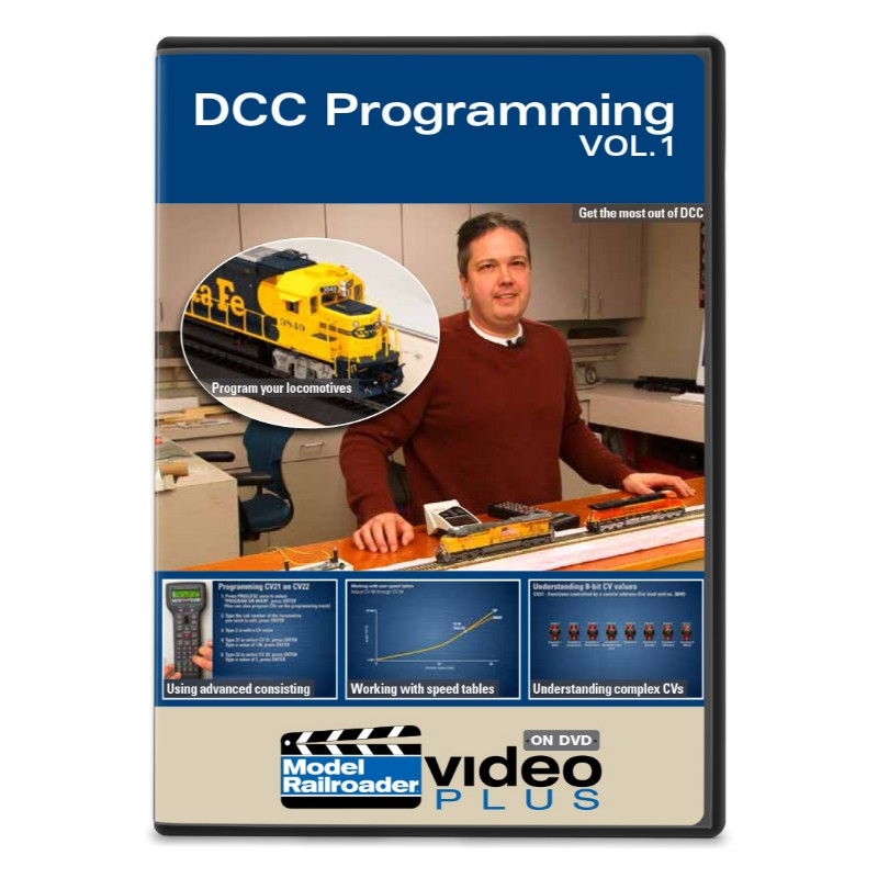 DCC Programming Vol. 1 DVD