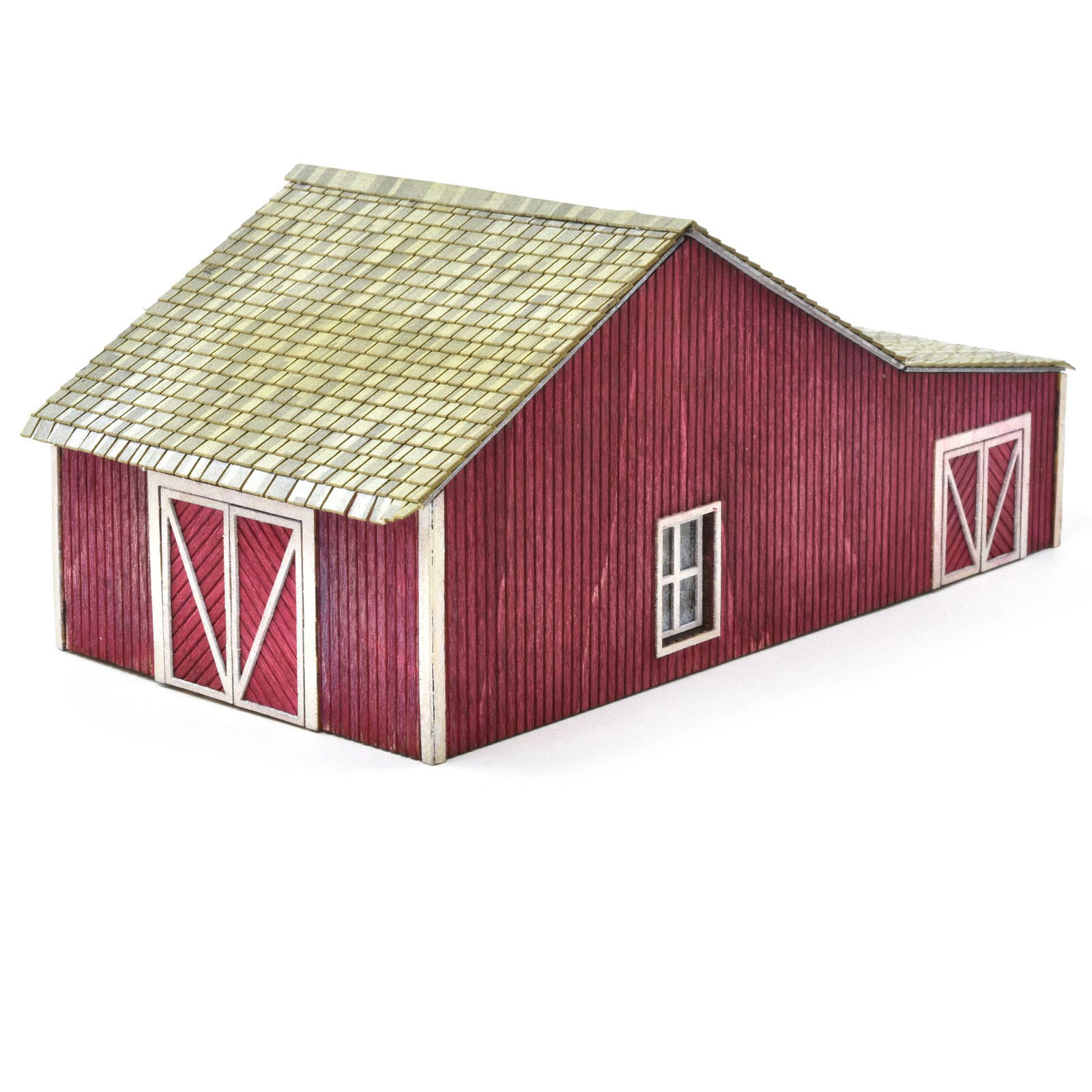 HO scale Horse Stable2
