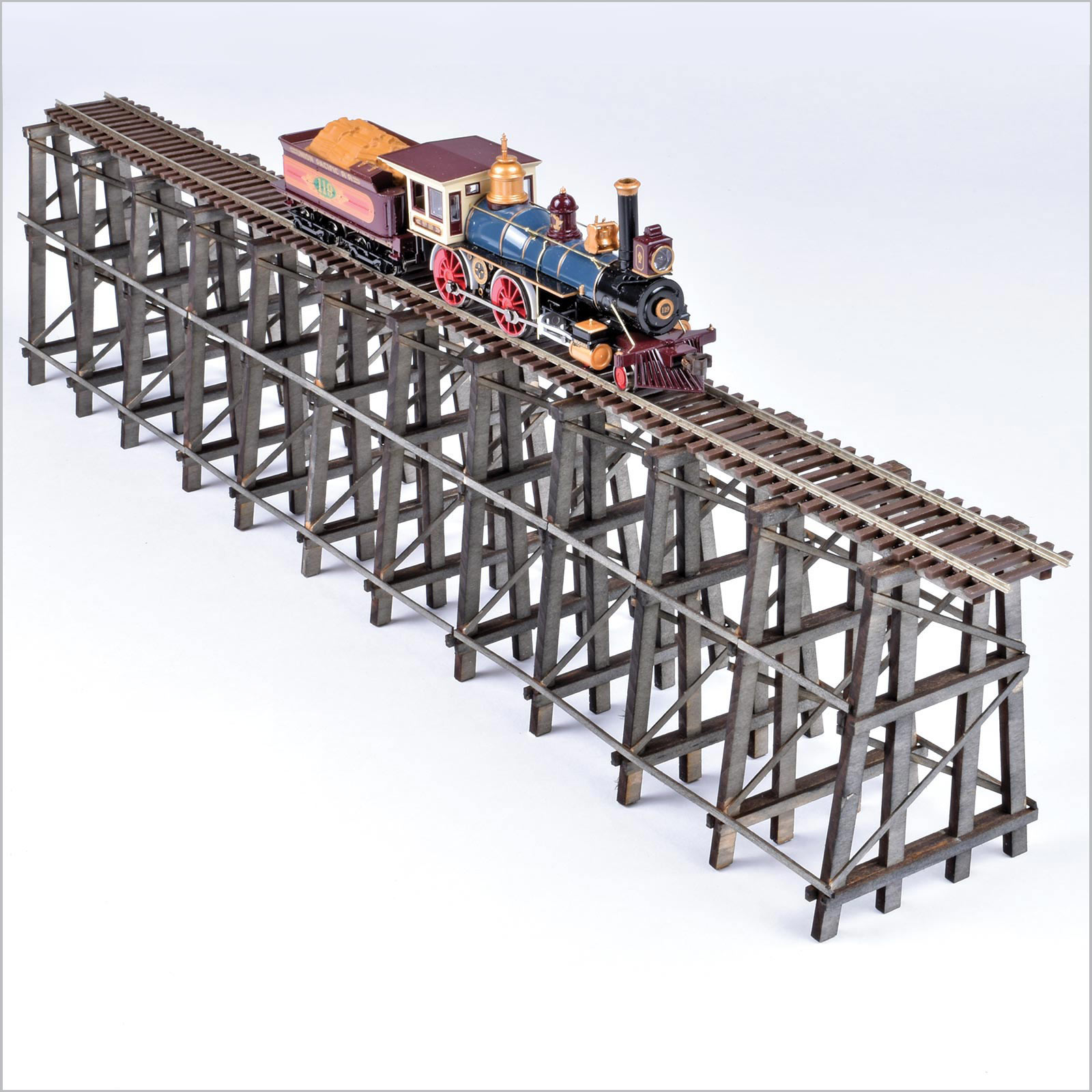 Wooden Trestle Bridge KIT