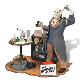 Invisible Man Plastic Diorama