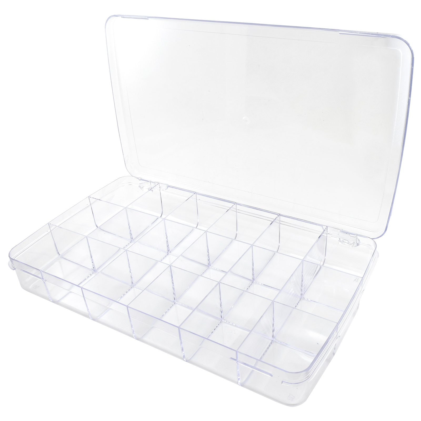 24 Compartment Plastic Storage Box