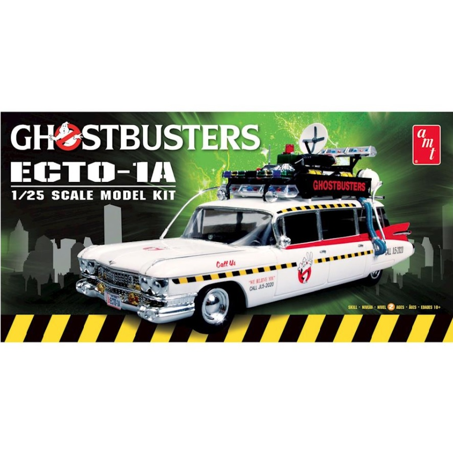 AMT Ghostbusters Ecto-1A 2