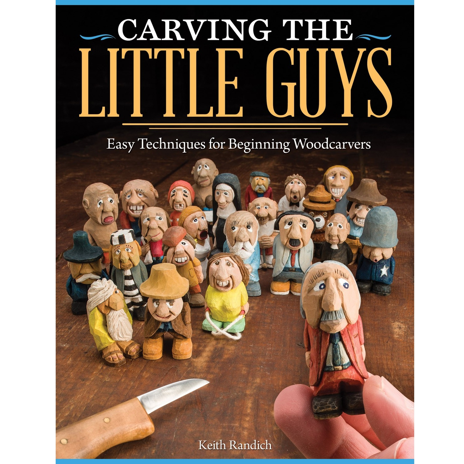 Carving the Little Guys Book