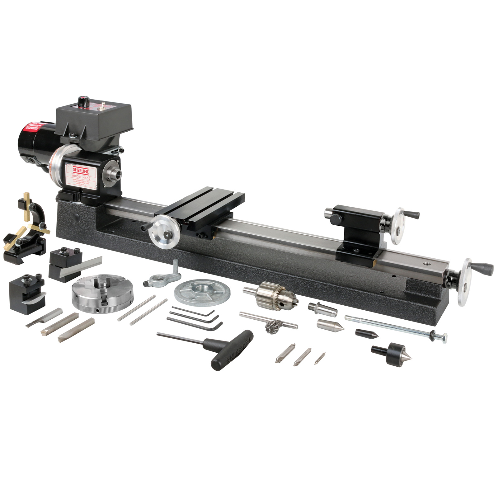 Sherline 4400 Series Lathe Package