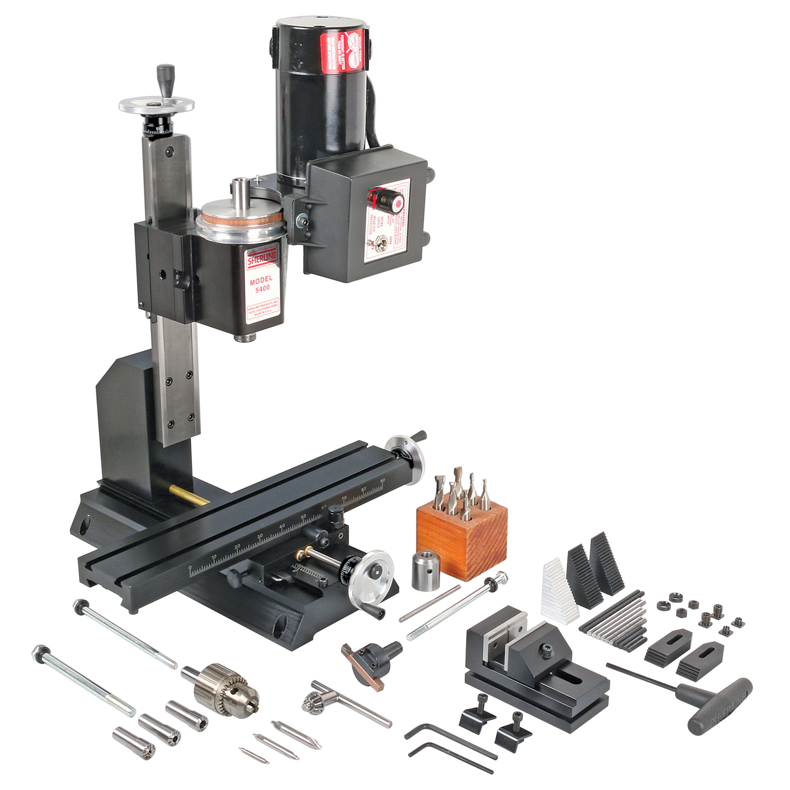 Awe Inspiring Sherline 5400 Series Deluxe Vertical Milling Machine Package Pabps2019 Chair Design Images Pabps2019Com
