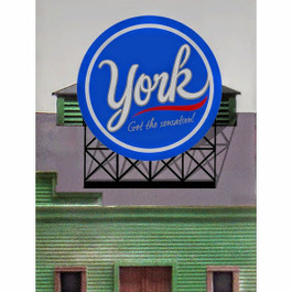 York Animated Billboard