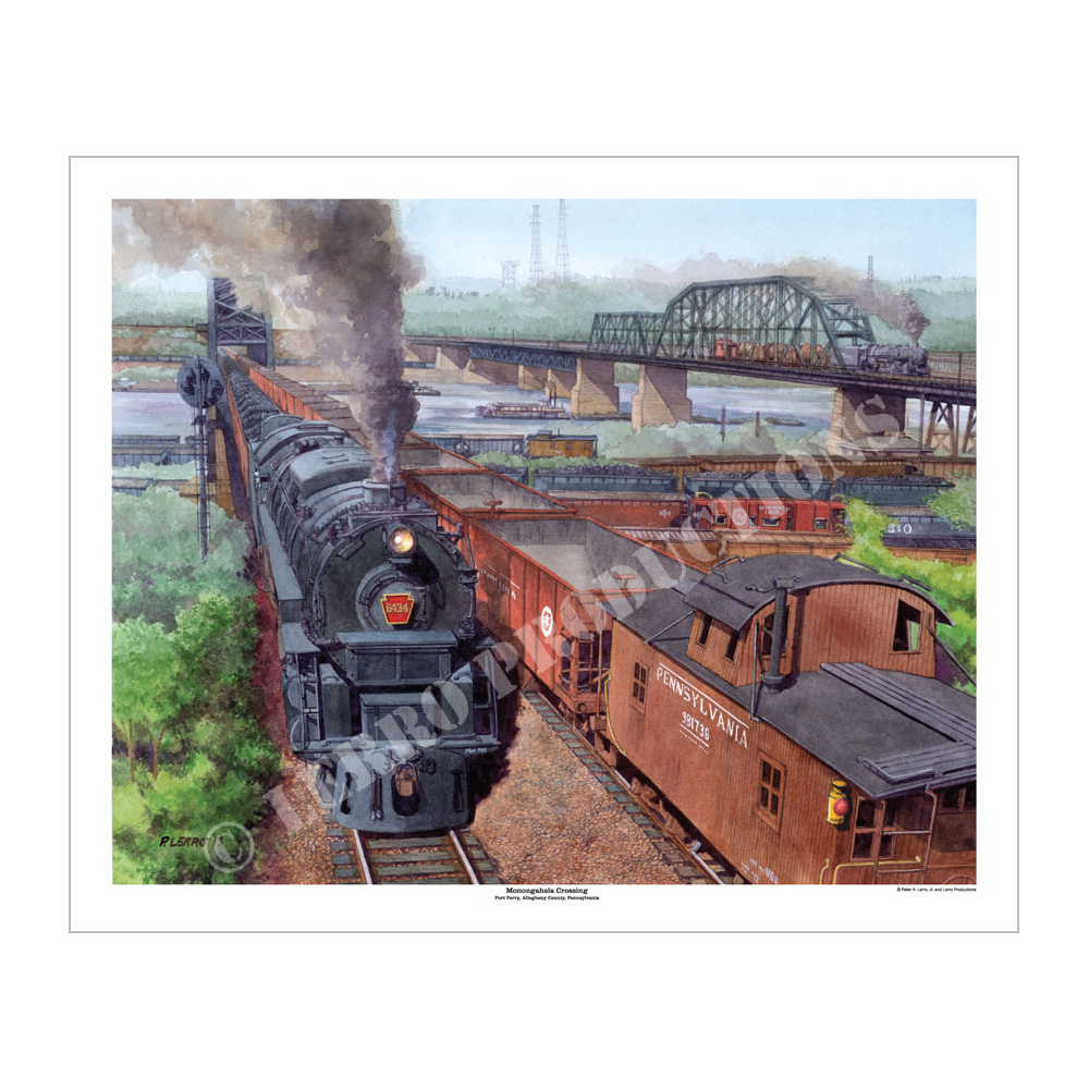 Monongahela Crossing, Art Print
