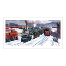 Susquehanna Crossing, Art Print