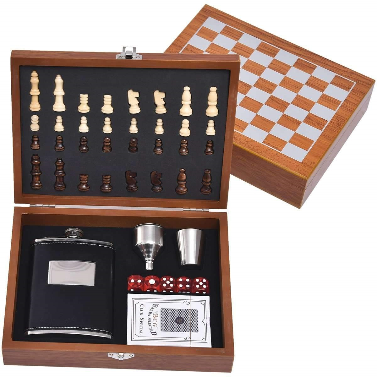 Mad Man Game Night Gift Set