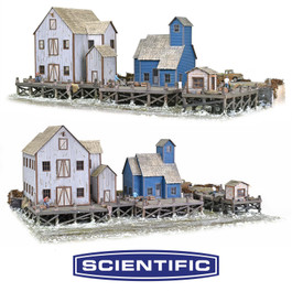 Wharf District, Deluxe Set of 3 Kit