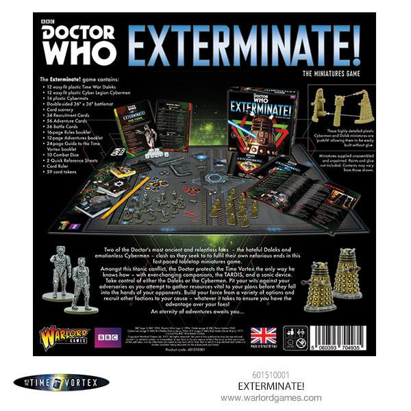 Doctor Who Exterminate!