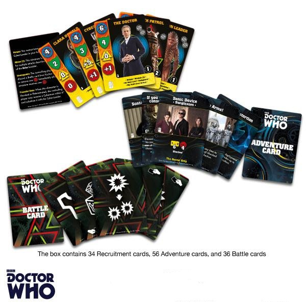 Doctor Who Game Cards