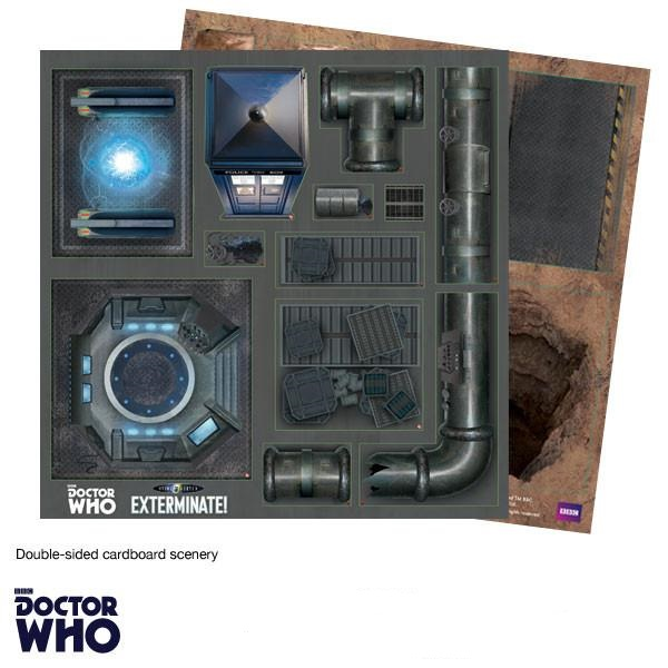 Doctor Who Scenery