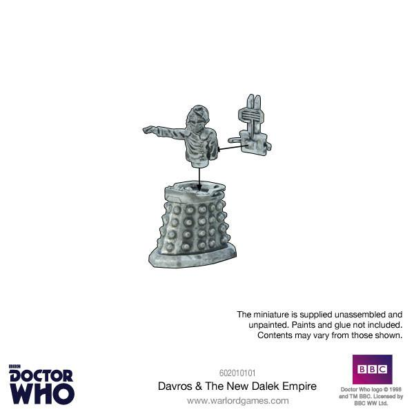 Davros & New Dalek Empire Miniature