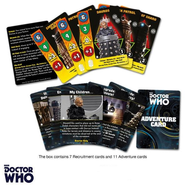 Davros & The New Dalek Empire Cards