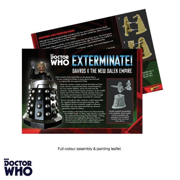 Davros & New Dalek Paint Guide
