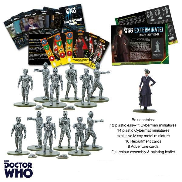 Warlord Games Missy & The Cybermen
