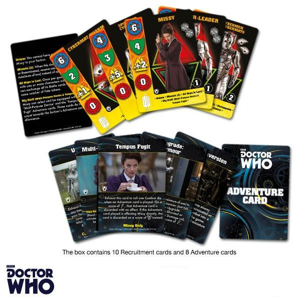 Doctor Who Missy Game Cards