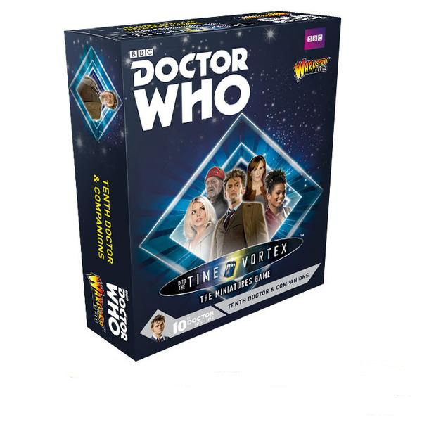 Warlord Games© Doctor Who - Tenth Doctor and Companions Set - Time Vortex  Game