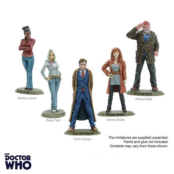 Doctor Who - Tenth Dr & Companions