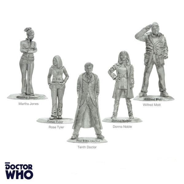 Warlord Games Tenth Dr & Companions