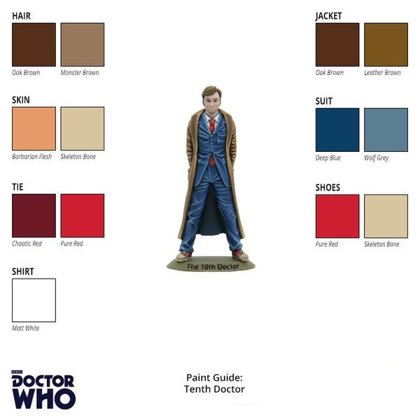 Tenth Doctor Paint Guide