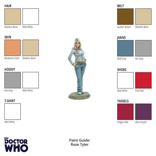 Rose Tyler Paint Guide