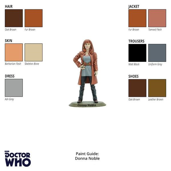 Donna Noble Paint Guide