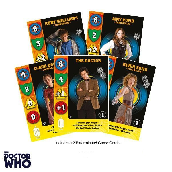 Eleventh Doctor Game Cards