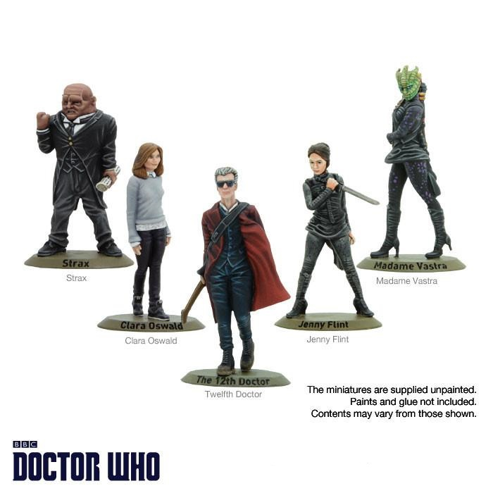 Warlord Twelfth Dr & Companions