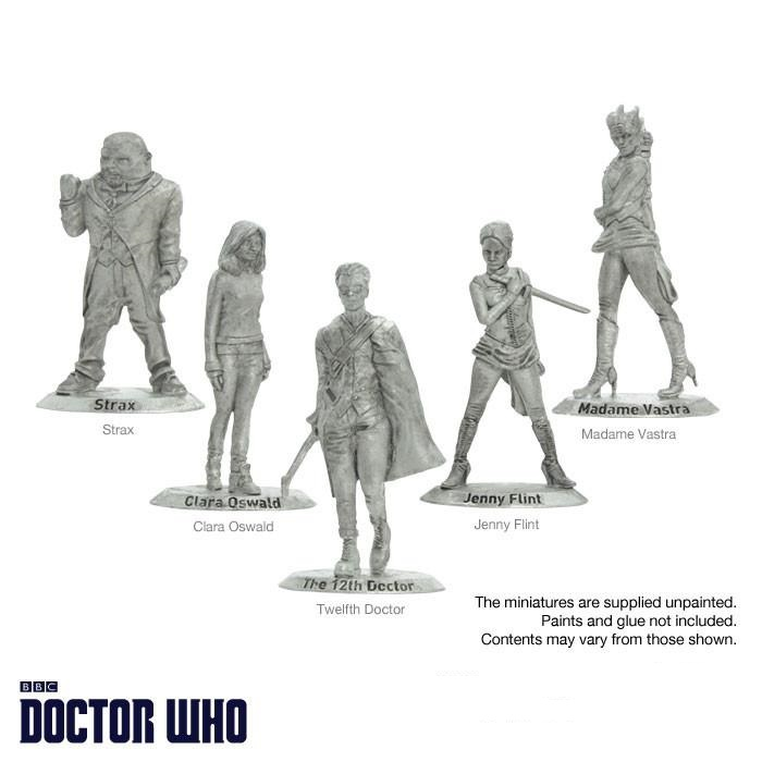 Unpainted Twelfth Dr & Companions
