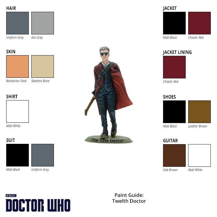 Twelfth Doctor Paint Guide