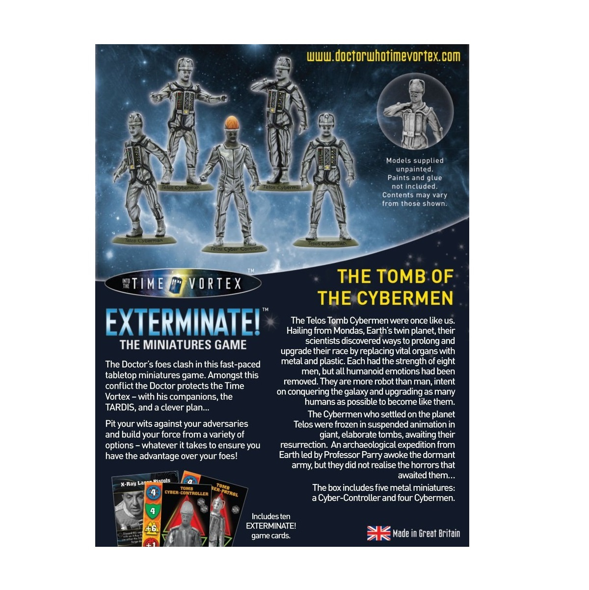 Doctor Who Exterminate Cards