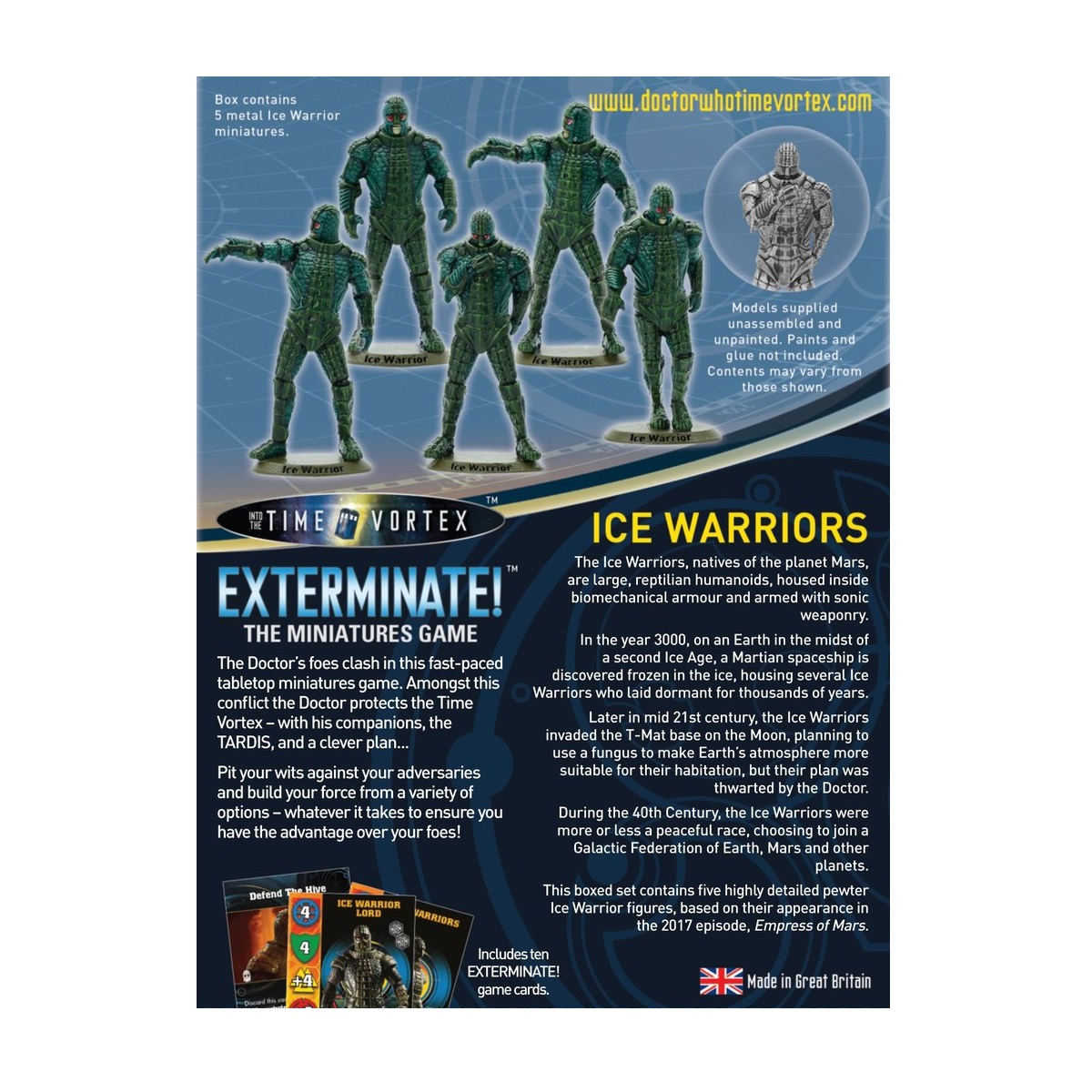 Warlord Games Dr. Who Ice Warriors