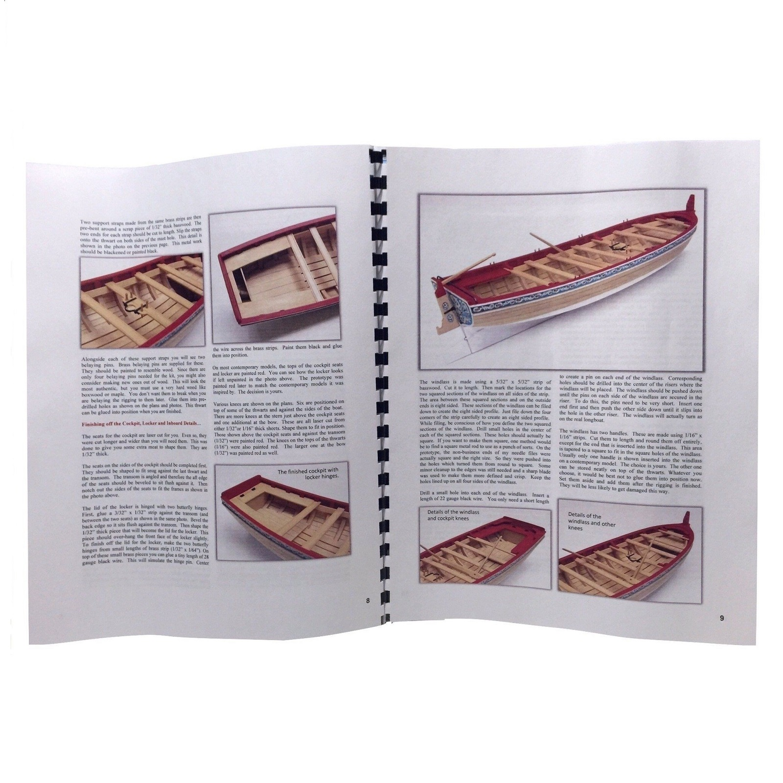 Longboat Kit Instruction Booklet