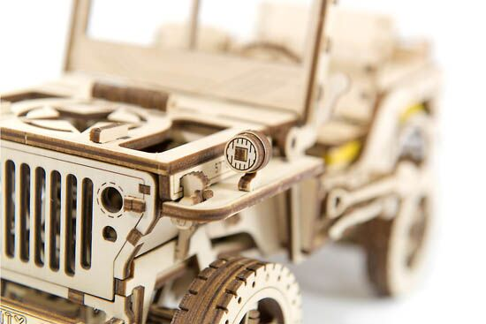 Wooden City® Jeep Willys