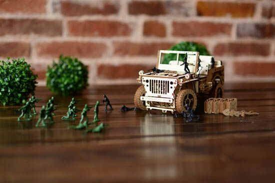 Wooden City® Jeep
