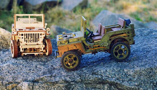 Wooden City® 4X4 Jeep