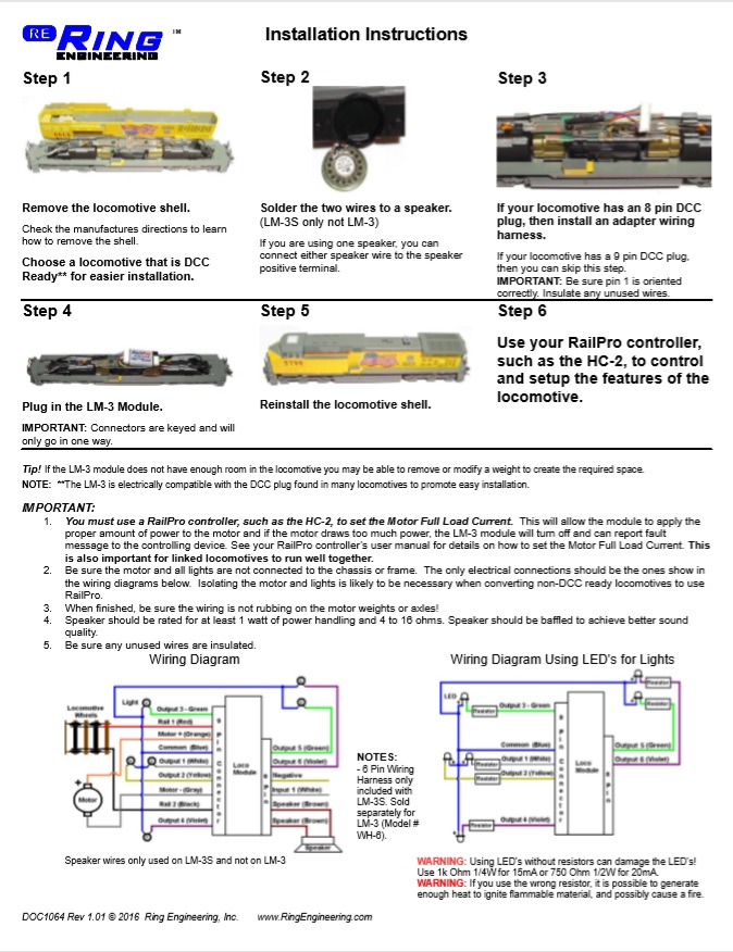 LM-3S Instructions Pg. 2