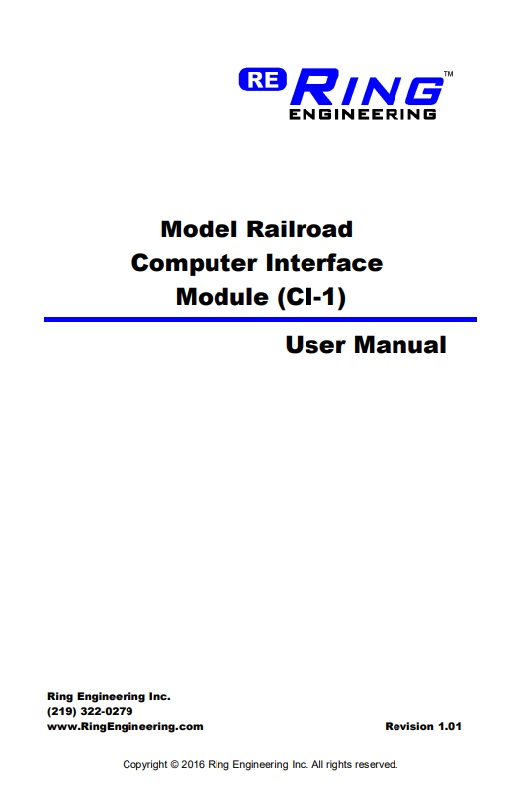 CI-1 User Manual